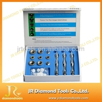 Skin Care Diamond Dermabrasion Machine Microdermabrasion 9 Tips 3 Stainless Steel Wands