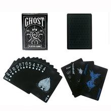 2 вида матовые водонепроницаемые пластиковые игральные карты для подарка/вечерние/Семейные игры Волшебный покер индивидуальные в форме цветка карты