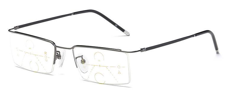 Anteojos de aleación de titanio Hombres Zoom inteligente - Accesorios para la ropa - foto 4