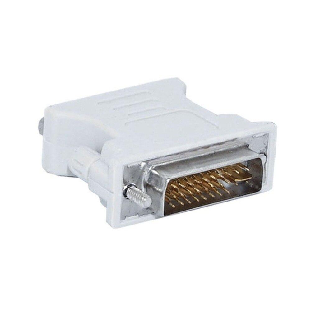L Shape DVI I To VGA Adapter,90 Degree DVI 24+5 29Pin Male To VGA 15 Pin Female Converter Connecter Adapter For Laptop