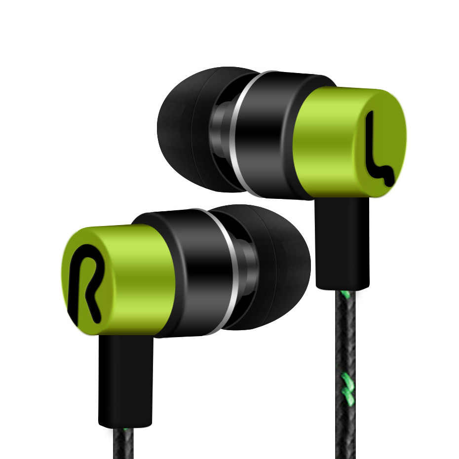 High Quality In Ear Mobile Universal 3.5mm In-Ear Stereo Earbuds Earphone With Mic Music Sports D30 Jan12