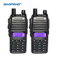 2pcs/lot BAOFENG UV 82 Radio VHF/UHF 137 174/400 520MHz Dual Band Radio Walkie Talkie Transceiver CB Ham Radio Baofeng UV82