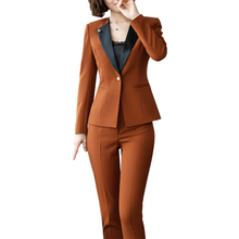 Large Size Women 2 Pieces /Set Womens Office Business Suits