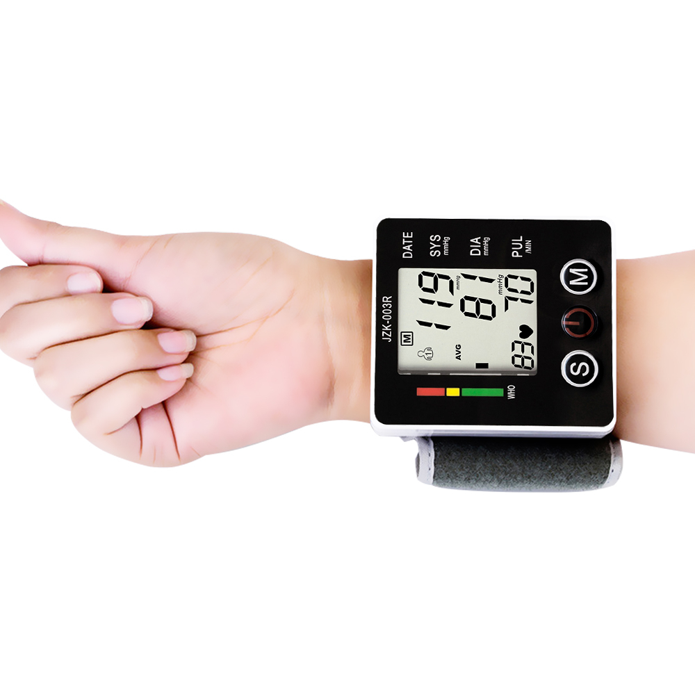 Wrist Digital Blood Pressure Monitor Automatic Home Health Care Household Smart Medical Machine Pulse Sphygmomanometer(China)