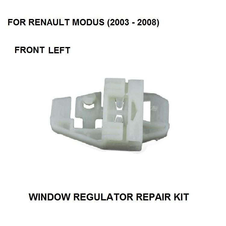 2003-2008 WINDOW REGULATOR CLIP KIT FOR RENAULT MODUS ELECTRIC WINDOW REGULATOR REPAIR CLIP FRONT LEFT SIDE