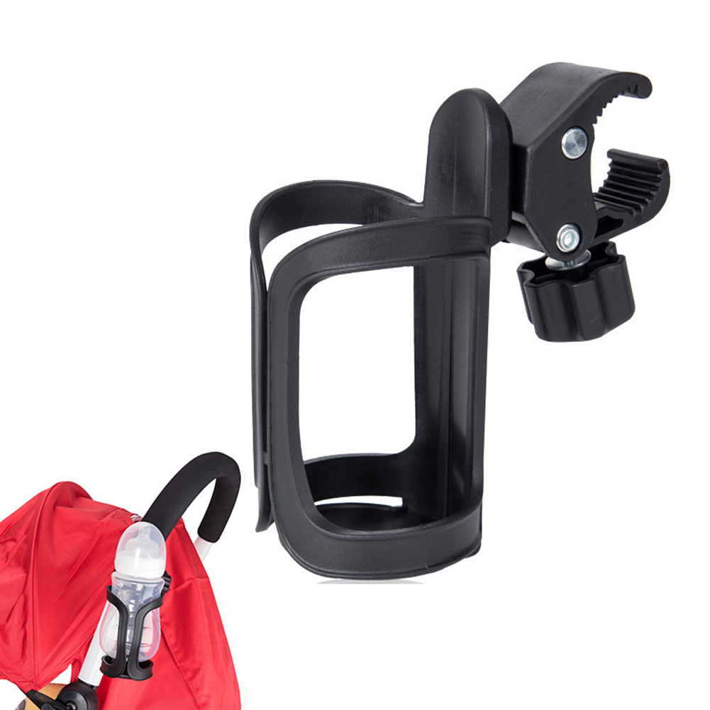 Bottle Holder Universal 360 Degree Rotation Antislip Cup Drink Holder for Stroller Bike Wheelchair 88 S7JN 360 degree mini suction cup holder w clip car charger for motorola moto g black