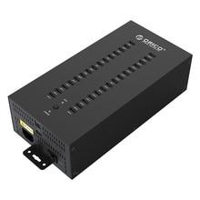 Centrum 30 porty USB przemysłowe USB2.0 HUB USB Splitter z 2 modele transmisji danych lub ładowarka USB, IH30P