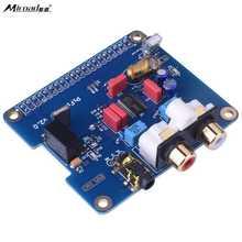Big sale Miroad PIFI Digi DAC+ HIFI DAC Audio Sound Card Module I2S interface for Raspberry pi 3 2 Model B B+ Digital Audio Card  SC08