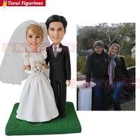 wedding cake topper name and date make a Custom bobblehead superman custom sports bobblehead wedding custom yankee bobblehead