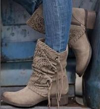 woman martin boots lady hollow out tassels ankle booties chaussures femme ete zapatos mujer girls round toe women shoes AB0011
