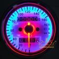 Motorcycle Dual Odometer Speedometer Gauge for Harley Yamaha Suzuki Kawasaki Universal (0131)