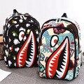 2016 Hot Sale Children Fashion Shark Backpack Cute Backpacks Boy's Travel Bags cartoon School Bag for teenagers HIGH QUALITY