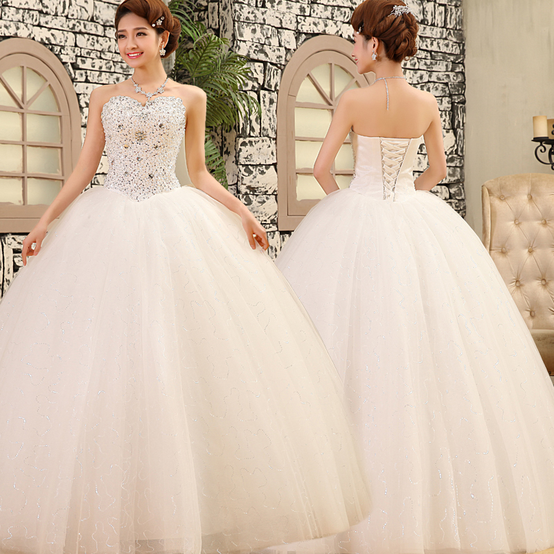 2015 New Style Ball Gown wedding dresses 2015 Bridal Gown-in Wedding ...