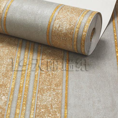 Luxury golden striped background wallpaper Modern Living Room Bedroom TV Wall Hotel Shop Wallpaper Non-woven wallpaper roll non woven bubble butterfly wallpaper design modern pastoral flock 3d circle wall paper for living room background walls 10m roll