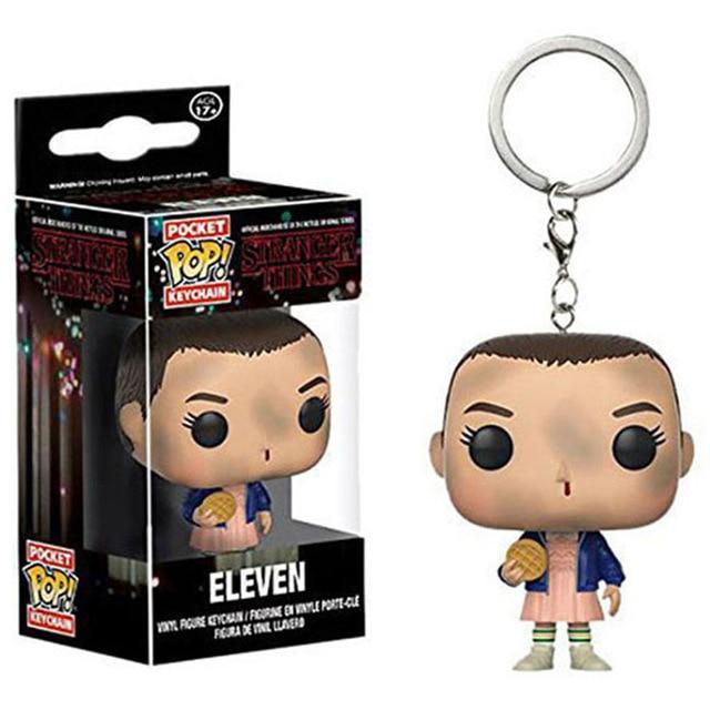 FUNKO POP брелок Marvel странные вещи Капитан Америка Сейлор Мун Игра престолов малефисент с коробкой - Цвет: ELEVEN