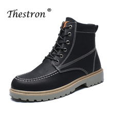 Fashion Working Boots Luxury Brand Comfortable Men Safety Army Winter Tactical Military Shoes Warm Short