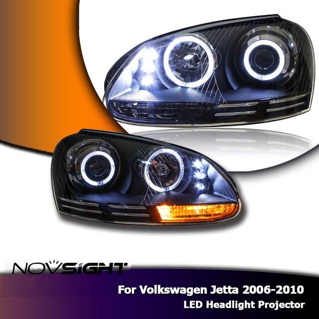 Novsight Auto Car Led Light Projector Headlights Embly Drl Fog For Volkswagen Jetta 2006 2010