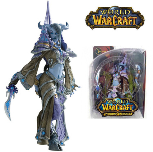 WOW WORLD SERIES 3 DRAENEI MAGE TAMUURA ACTION FIGURES TOY COLLECTION Anime Figure Da Collezione Model Toy image
