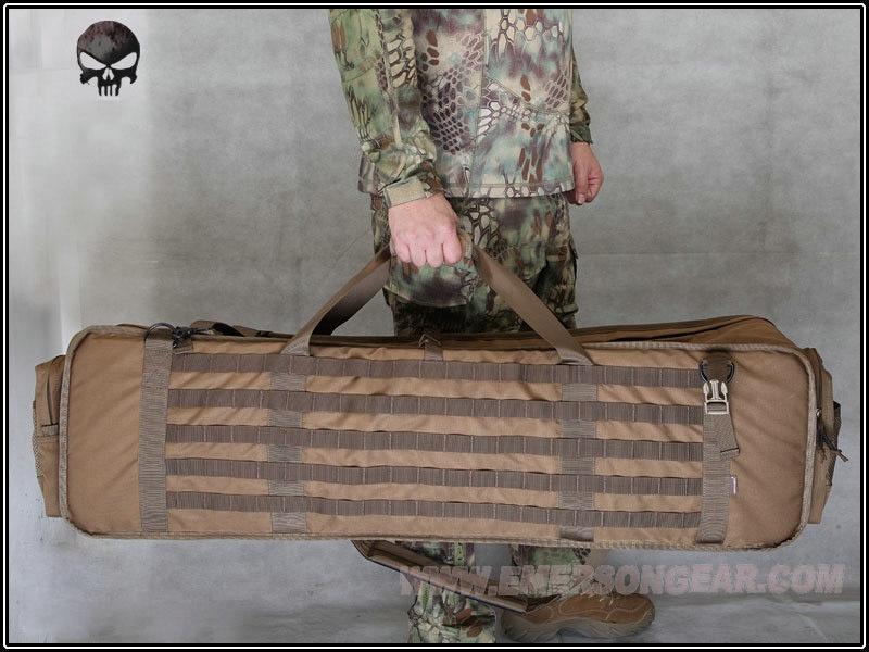 NEW 2 0 M60 M249 Gun Case lightweight MOLLE CB 1000D Nylon Airsoft Tactical Pack CS