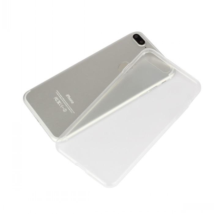 Para iphone 7 casos cubierta transparente tpu suave delgada billetera bolsa coqu