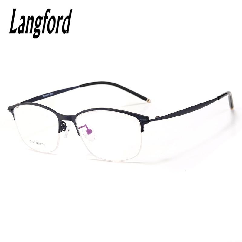 2d5a01ada خمر جولة نصف النظارات إطار كبير النظارات الرجعية نظارات أزياء النظارات  البصرية إطار قصر النظر 1013