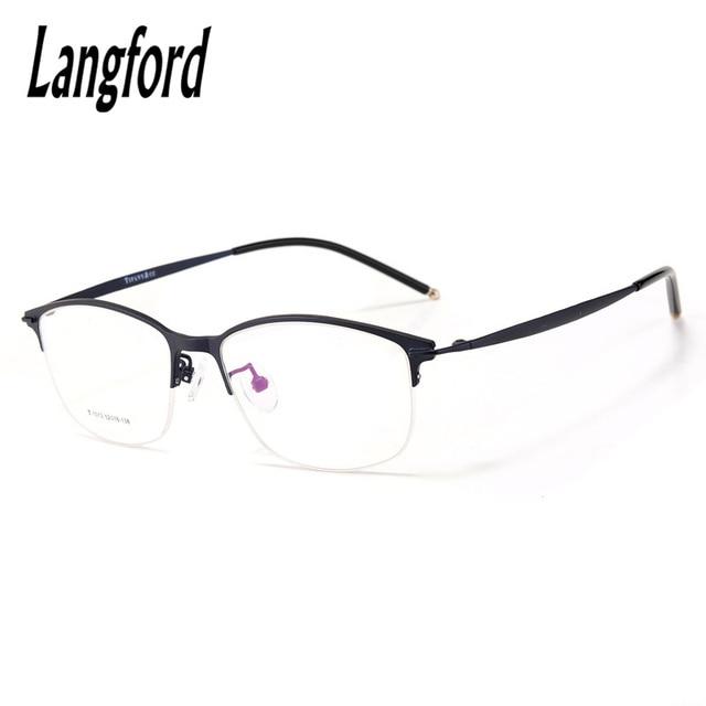 27f82bb1a1 Vintage Round half glasses frame big eyeglasses optical Retro eyewear  fashion spectacles frame prescription myopia 1013