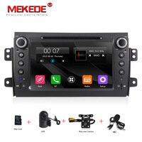 Бесплатная доставка HD емкостный экран автомобиля DVD для SUZUKI SX4 Mp3 аудио DVD навигации gps SX4 для Suzuki стерео + бесплатная 8 г карта
