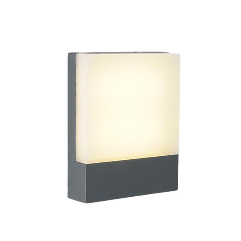 Modern LED wall lamp Waterproof wash wall light Porch Door Lights aluminum wall sconce Bathroom lighting fixture home decoration цена 2017