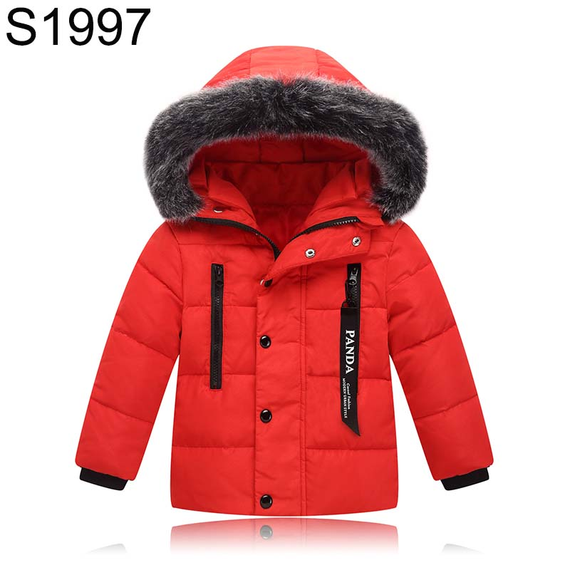 Children's Winter Warm Jackets Boys Girls White Goose Down Coats Outerwear Baby Kids Zipper Fur Collar Hooded Thick Warm Clothes 2017 new baby girls boys winter coats jacket children down outerwear warm thick outdoor kids fur collar snow proof coat parkas