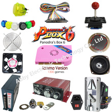 Hot selling Arcade diy kit with pandora box game for arcade machine