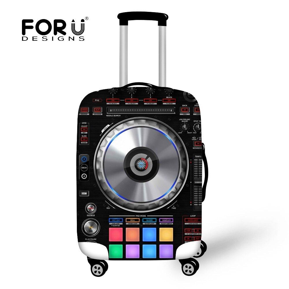 Forudesigns Чемодан защитный чехол для 18 до 30 дюймов тележка чемодан эластичные Сумки 3d loundspeaker Чехлы для мангала Туристические товары