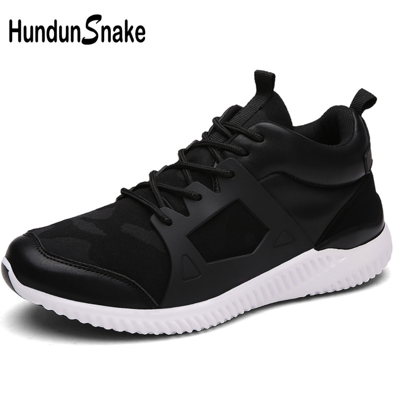 Hundunsnake High Top Mens Running Shoes For Men Sneakers Male Shoes Adult Sports Shoes Men Sport Shoe 2018 Mens Footwear T403
