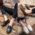 Doug zapatos Inglaterra establece pedal zapatos slip-on de Corea del todo-fósforo Mens Casual verano de moda juvenil