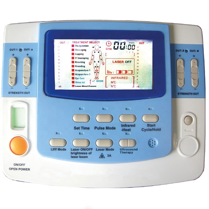 Elektrische Magnetische Laser Physikalische Therapie Gerät Ultraschall Impuls Stimulieren Therapie Maschine EA-F29