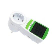 Digital wattmeter voltmeter portable Power Meter tester 230V 50Hz LCD Digital Wattage Voltage Current Frequency Monitor Analyzer