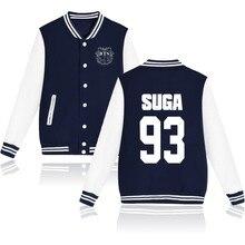 Fashion Design BTS SUGA93 Mens Hoodies Kpop Sweatshirts And Plus Size Bts Wings Logo Women Sweatshirts Autumn Clothes
