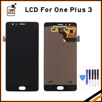 Original Oneplus 3 LCD Display With Frame Touch Screen Digitizer For Oneplus3 Three A3003 A3000 LCD