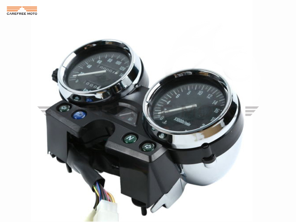 1 Pcs Motorcycle Tachometer Speedometer Meter Gauge Moto Speed Mileage Meter Case for Kawasaki BALIUS II