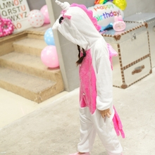 EOICIOI New Pijamas kids winter animal cartoon unicorn onesie unicorn costume child boys girls pyjama christmas kids pajama sets