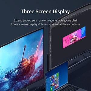 Image 2 - HAGIBIS USB C Sang HDMI Type C To HDMI 4K Kép HDMI Cho Macbook Samsung Galaxy S9/S8 huawei Mate 20/P20 Pro USB C Sang HDMI