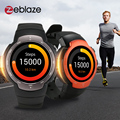 Zeblaze Блиц Android5.1 3 Г Smartwatch MTK6580 Quad Core Bluetooth4.0 Спорт Водонепроницаемый Smart Watch Шагомер Монитор Сердечного ритма