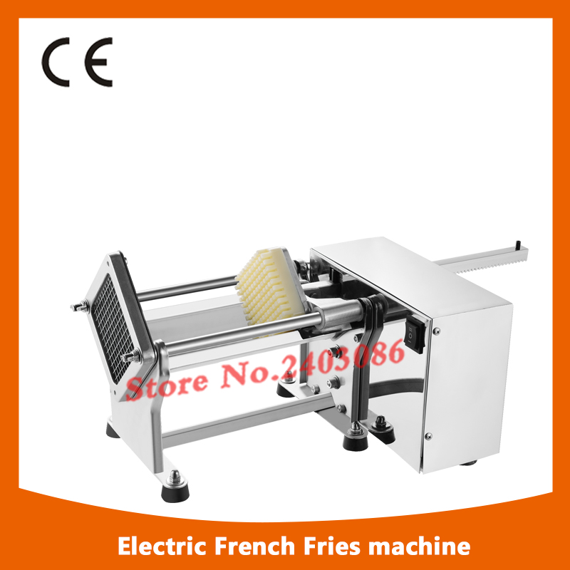 stainless steel electric frozen potato french fries making machine/carrots cutter cutting machine 1pc gas type stainless steel food fryer french fries potato fries gas deep fryers
