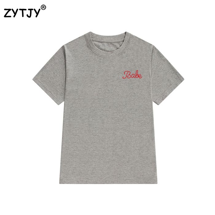 HTB1bmpGQpXXXXb apXXq6xXFXXXD - Babe Red Pocket Women T Shirt PTC 15