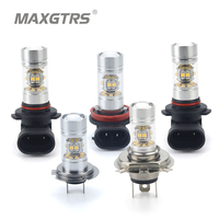 2x H4 H7 H8 H11 9005 HB3 9006 HB4 Sharp Chip Car LED Light Bulb 140W