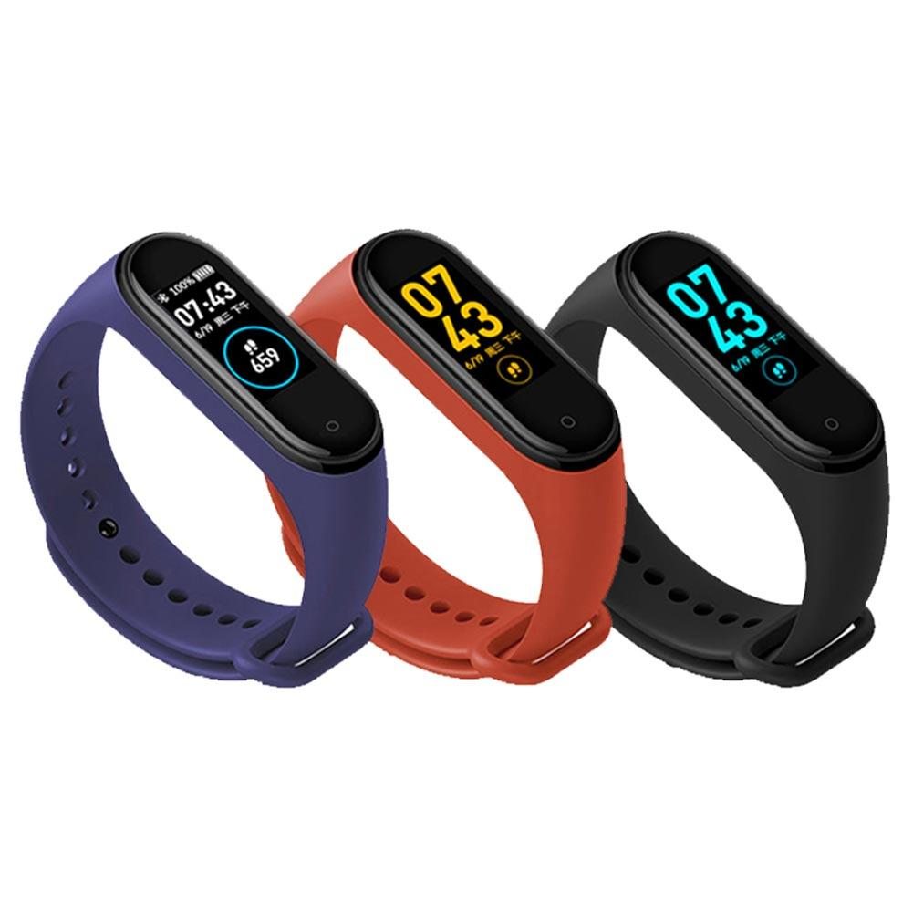 New Smart Bracelet Band 0.96 Inch Color Screen Sleep Monitoring Step Waterproof Swimming Health Fitness Tracker Smart Watch