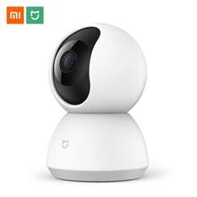 Xiaomi Mijia Câmera IP Wi fi 1080 P Infrared Night Vision 360 Graus PTZ Wi fi CCTV Webcam Smart Home Segurança Vigilância câmera