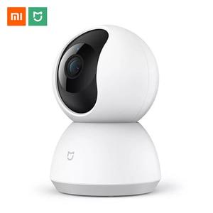 Image 1 - Xiaomi Mijia IP המצלמה Wifi 1080 P אינפרא אדום ראיית לילה 360 תואר PTZ Wi fi CCTV Webcam חכם אבטחת בית מעקבים מצלמה