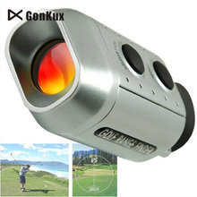 Gonkux 7×18 Monocular 930 Yards Electronic Golf Laser Rangefinder Distance Meter Range Finder With Retail package
