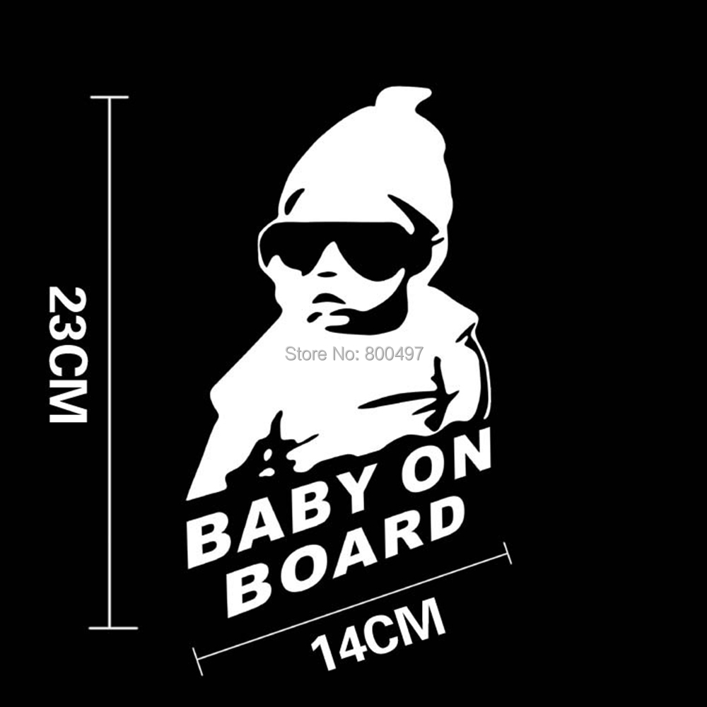 10 x Baby on Board Baby in Car Stickers Car Decal for Toyota Ford Chevrolet Volkswagen Tesla Opel Hyundai Kia Lada