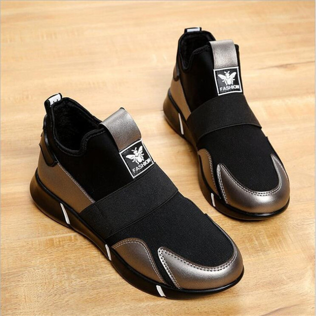 2019 Femmes Sneakers chaussures vulcanisées Dames chaussures décontractées Respirant Marche chaussures plates en maille grande taille chaussures couple size35-40 5